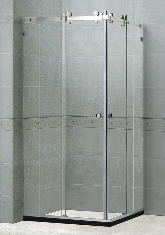 Self - Cleaning Frameless Shower Enclosures 10MM For Home / Apartment CE Certification